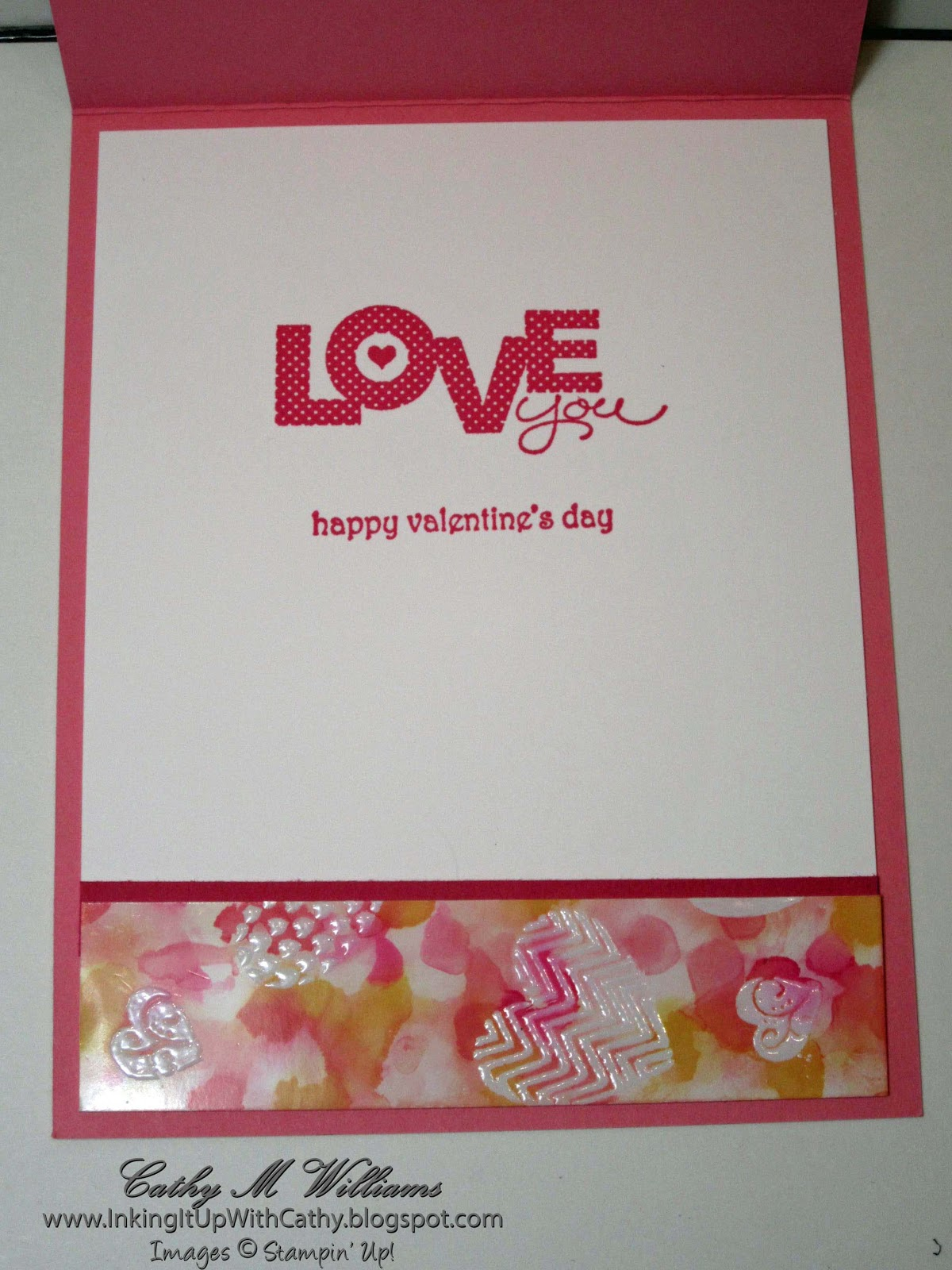 Inking It Up With Cathy: Stampin' Up! - Hearts A Flutter