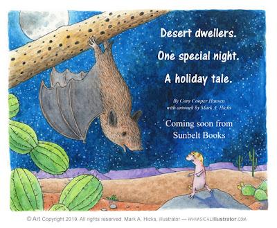 Children's book artwork by Mark A. Hicks, illustrator -- www.whimsicalillustrator.com