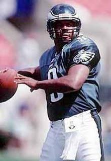 Rodney Peete Eagles Detroit Lions 345 15: ...