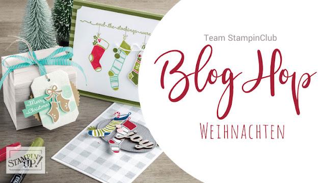 Blog Hop Weihnachten Team Stampinclub