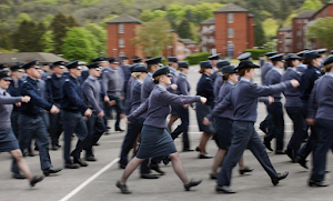 Royal Air Force prohibited force women from putting on skirts while on  parade