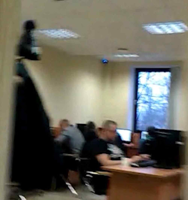 Lyudmila Savchuk registrou furtivamente os interiores da Internet Research Agency