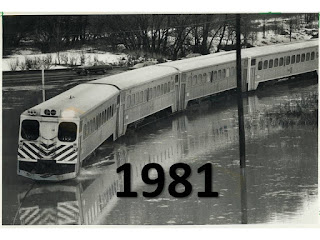 GO Train flood 1981