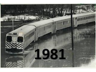 GO Train flood 1981