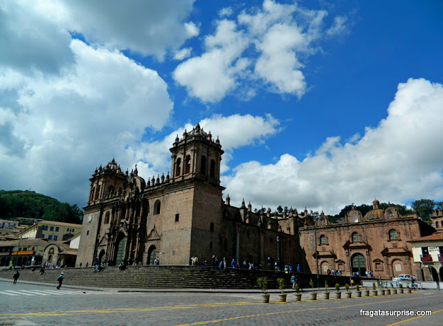 Catedral de Cusco e Igreja do Triunfo, Cusco, Peru