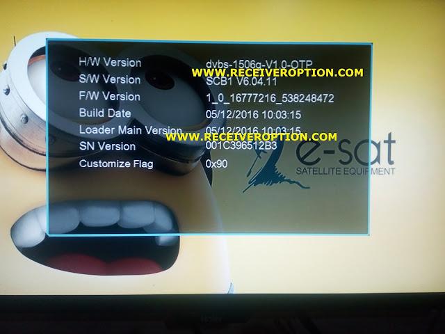 E-SAT 2000 HYPER HD RECEIVER POWERVU KEY SOFTWARE