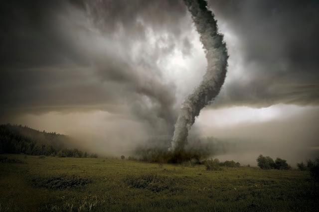 Penampakan Tornado