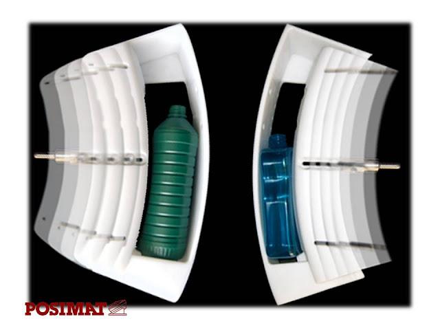 Unscrambler saat pergantian produk botol