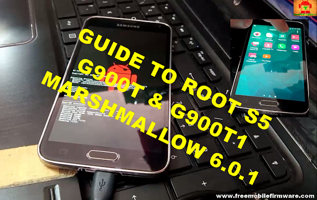 Guide To Root Samsung Galaxy S5 G900T G900T1 Marshmallow 6.0.1