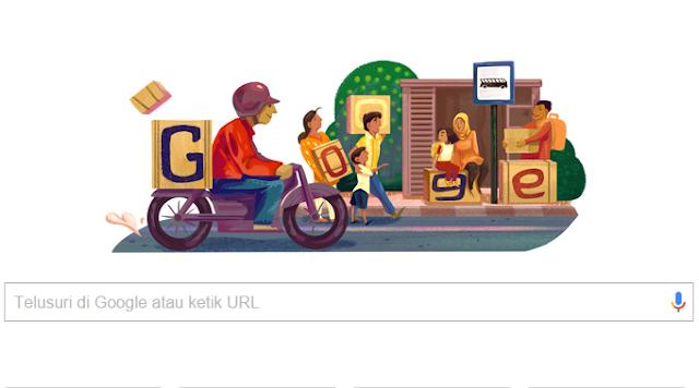 google doodle mudik