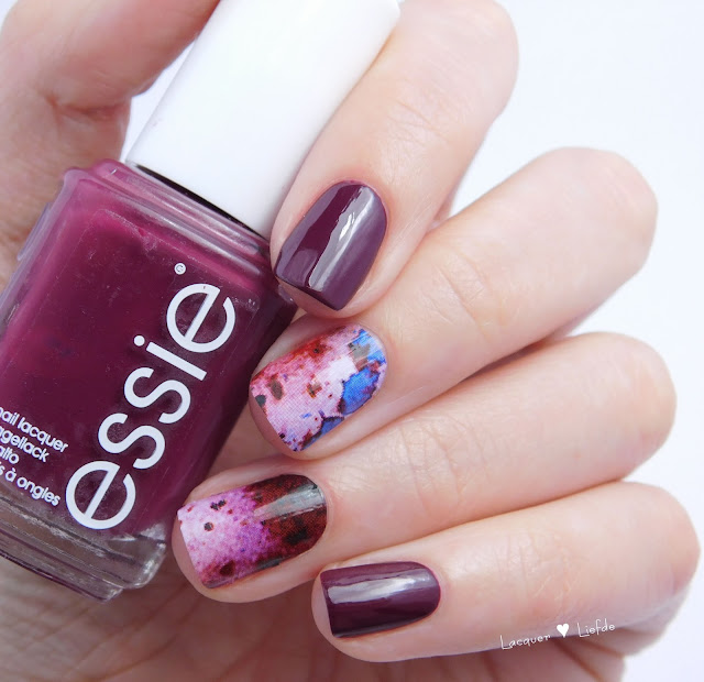 Essie Recessionista Nagel Design Thumbs Up Nail Wraps Rorschach