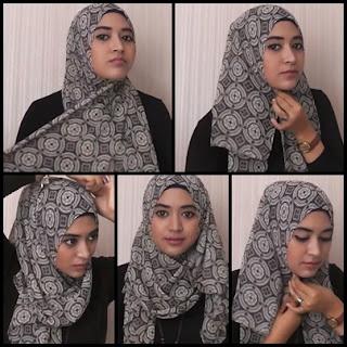 Kreasi Hijab Simple Natasha Farani