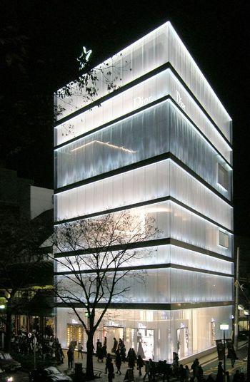 Dior omotesando de sanaa blog arquitectura y dise o for Blog de arquitectura