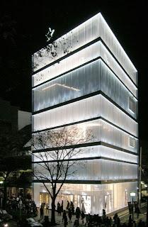 Dior Omotesando. SANAA.