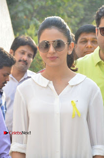 Actress Rakul Preet Singh at Endometriosis Awareness Walk at Apollo Cradle  0011.jpg