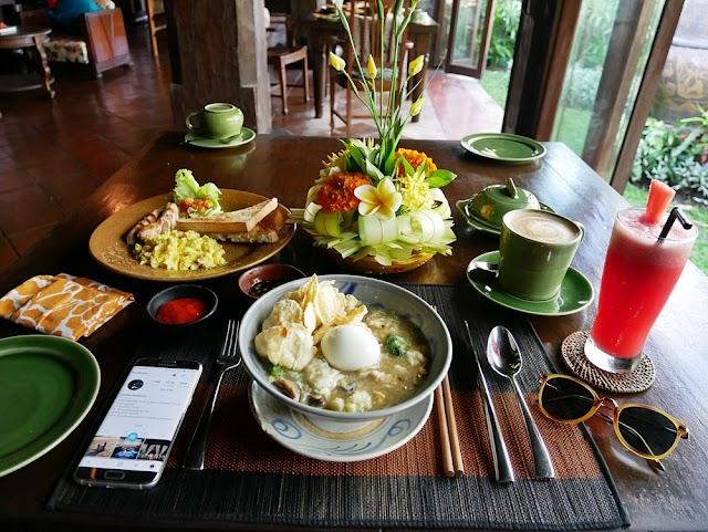 FOOD HEAVEN AT EXOTIC HOTEL TUGU BALI