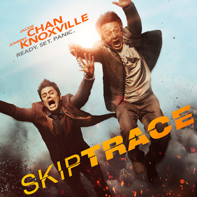 Poster Of Skiptrace In Dual Audio Hindi English 300MB Compressed Small Size Pc Movie Free Download Only At worldfree4u.com