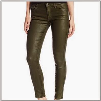 For All Man Kind Olive Skinny Jeans