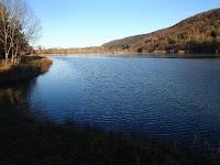 Vue du lac bleu