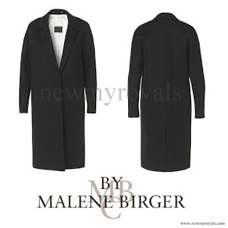 Crown princess Victoria wore BY MALENE BIRGER Coat