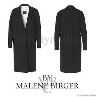 Crown princess Victoria wore BY MALENE BIRGER Coat