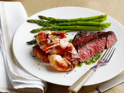 http://www.foodnetwork.com/recipes/food-network-kitchens/surf-and-turf-for-two-recipe.html