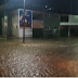Novo Oriente tem ruas alagadas após chuva de 40 minutos