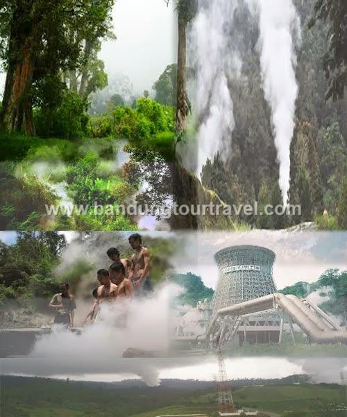 kawah kamojang paseh, wisata alam kamojang, bandung tour travel