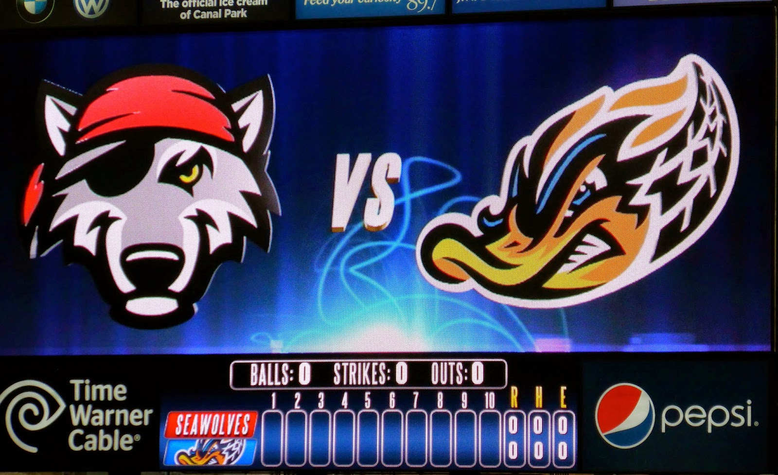 Sports Road Trips Erie Seawolves 1 At Akron Rubberducks 7