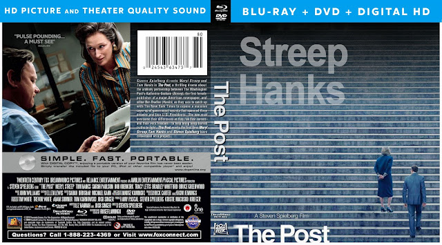The Post Bluray Cover