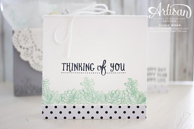 Basket of Wishes 3x3 Gift Set ~ Susan Wong