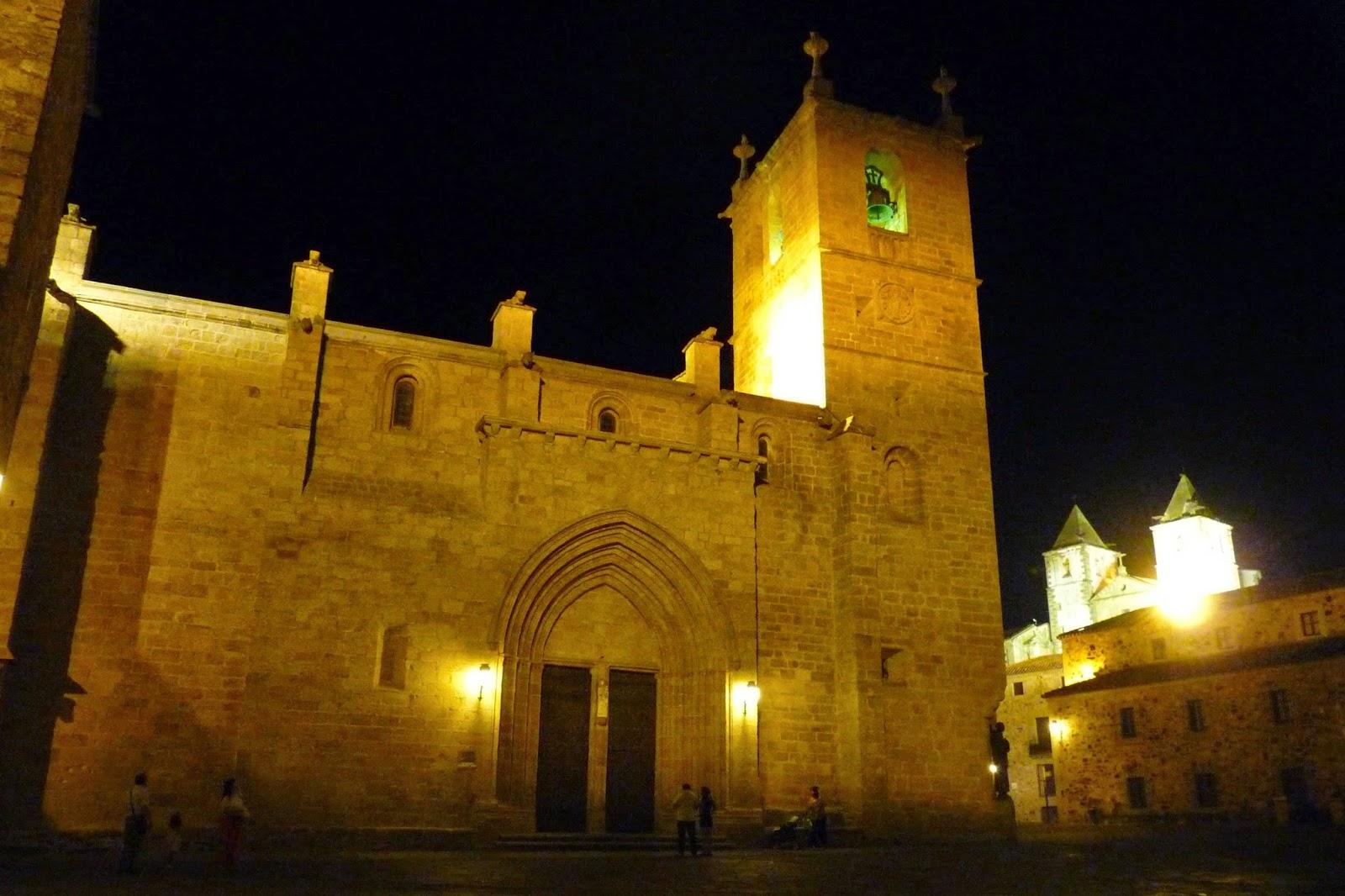 Iglesia-Concatedral de Santa María. Cáceres.
