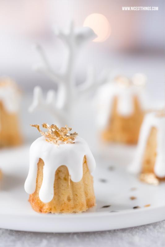 Gebrannte Mandel Kuchen Canneles mit essbarem Blattgold #gebranntemandeln #foodblogger #rezepte #canneles #blattgold #weihnachten #kuchen #weihnachtskuchen