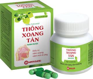 Thuốc điều trị viêm xoang Thông xoang tán Nam Dược
