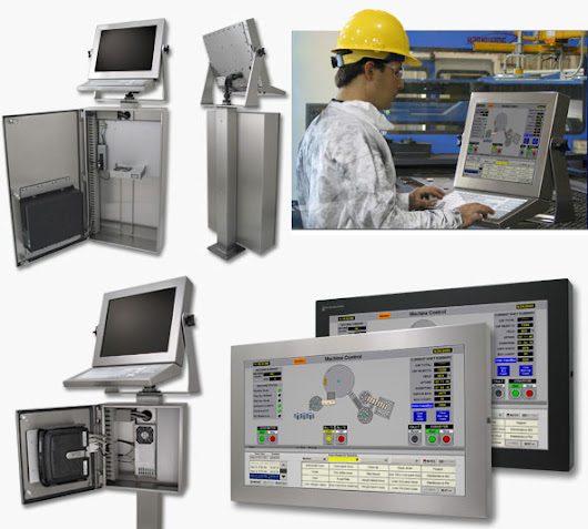 Products Specification and Benefits of Hope Industrial Touch Screen Monitor for industrial applications to handle the rigors of the factory floor — high temperatures, humidity, dirt, dust, fluids, shock and vibration