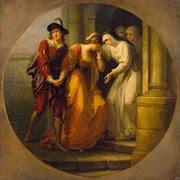 Despedida de Abelardo y Eloísa, Kauffman