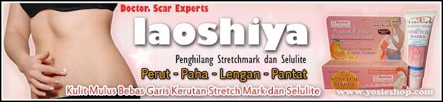 Cream Laoshiya Original - Penghilang Stretchmark dan Selulite 100% Terbukti Ampuh  dan Aman Tanpa Efek Samping Dengan Bahan Alami