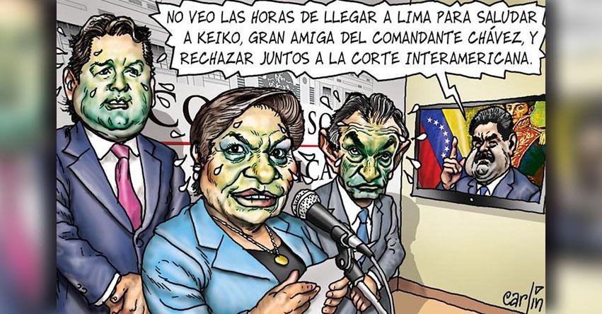 Carlincaturas Viernes 9 Febrero 2018 - La República