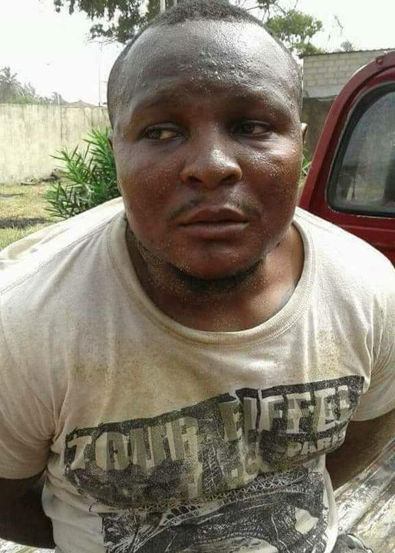 Ability in disability: Police arrest one-legged thief (photos)