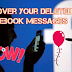 How to Recover Deleted Messages In Facebook Inbox
