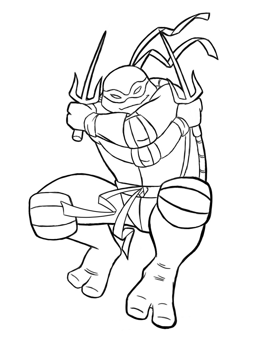 Teenage mutant ninja turtles shredder coloring pages