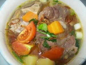 Resep membuat sup daging sapi, resep sop daging sapi