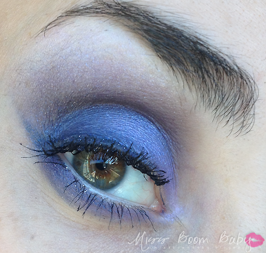 Miss Boom Baby ♥: Make up look: Purple Fever
