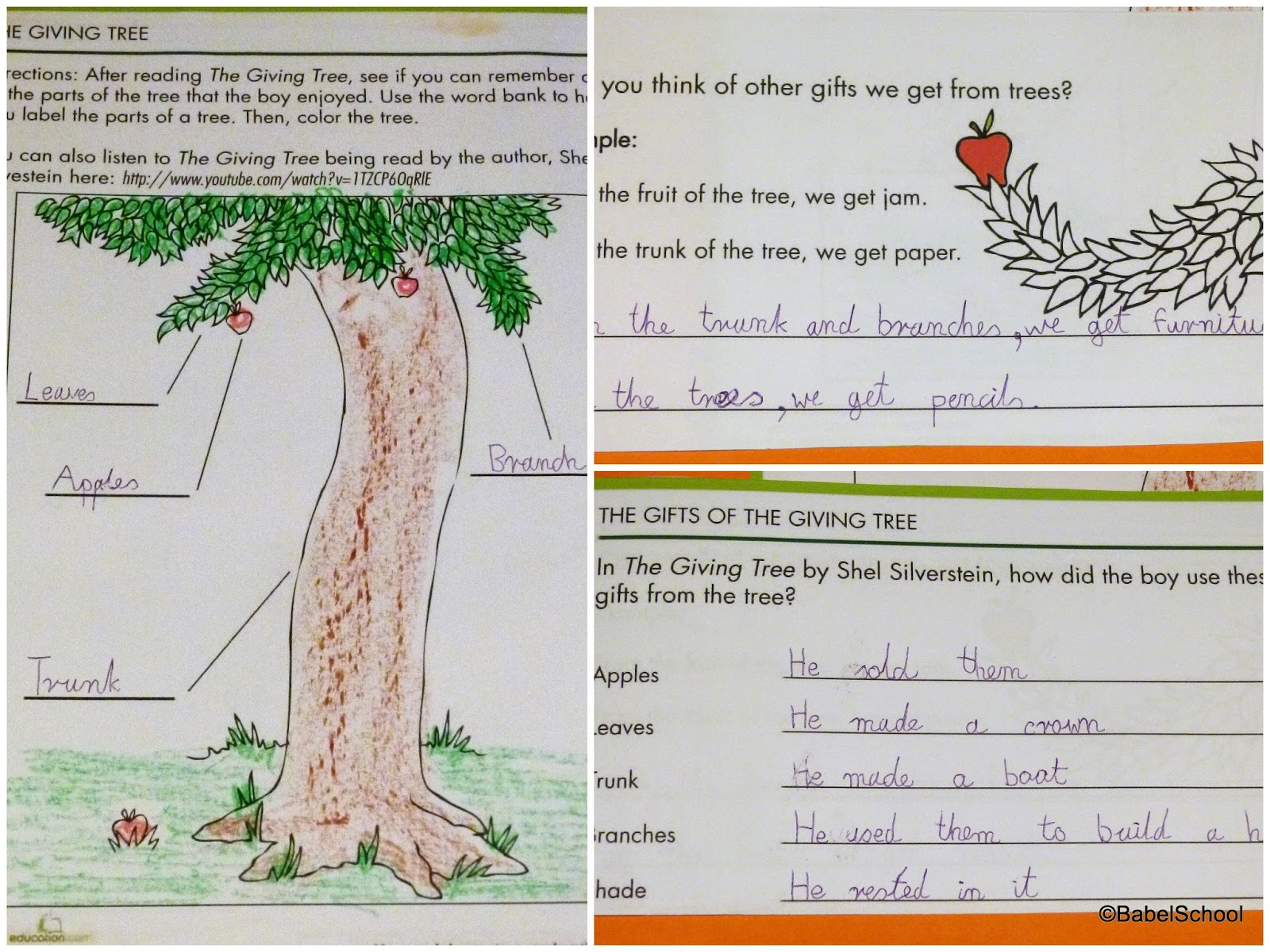 Lapbook Trees