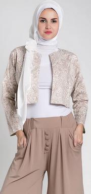 Contoh desain baju kerja muslim syar'i untuk wanita