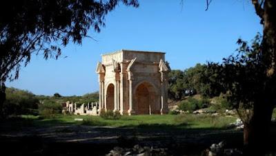 Η φημισμένη Leptis Magna στηρίζεται μόνο από τους ντόπιους