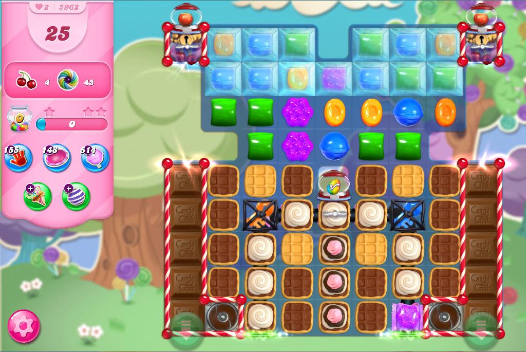 Candy Crush Saga level 5962