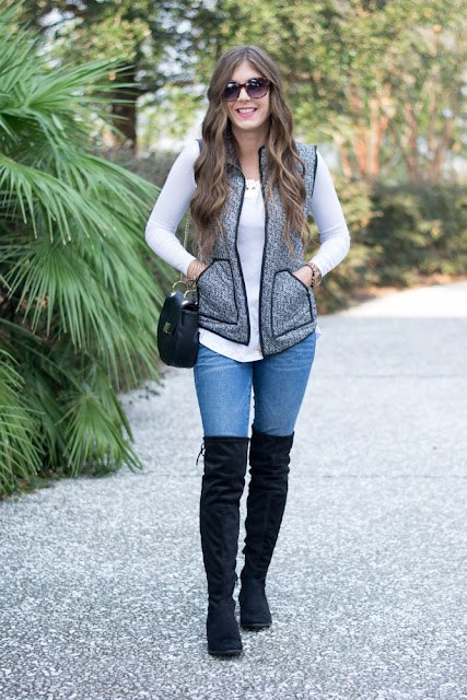 Ways To Wear Over The Knee Boots - Chasing Cinderella