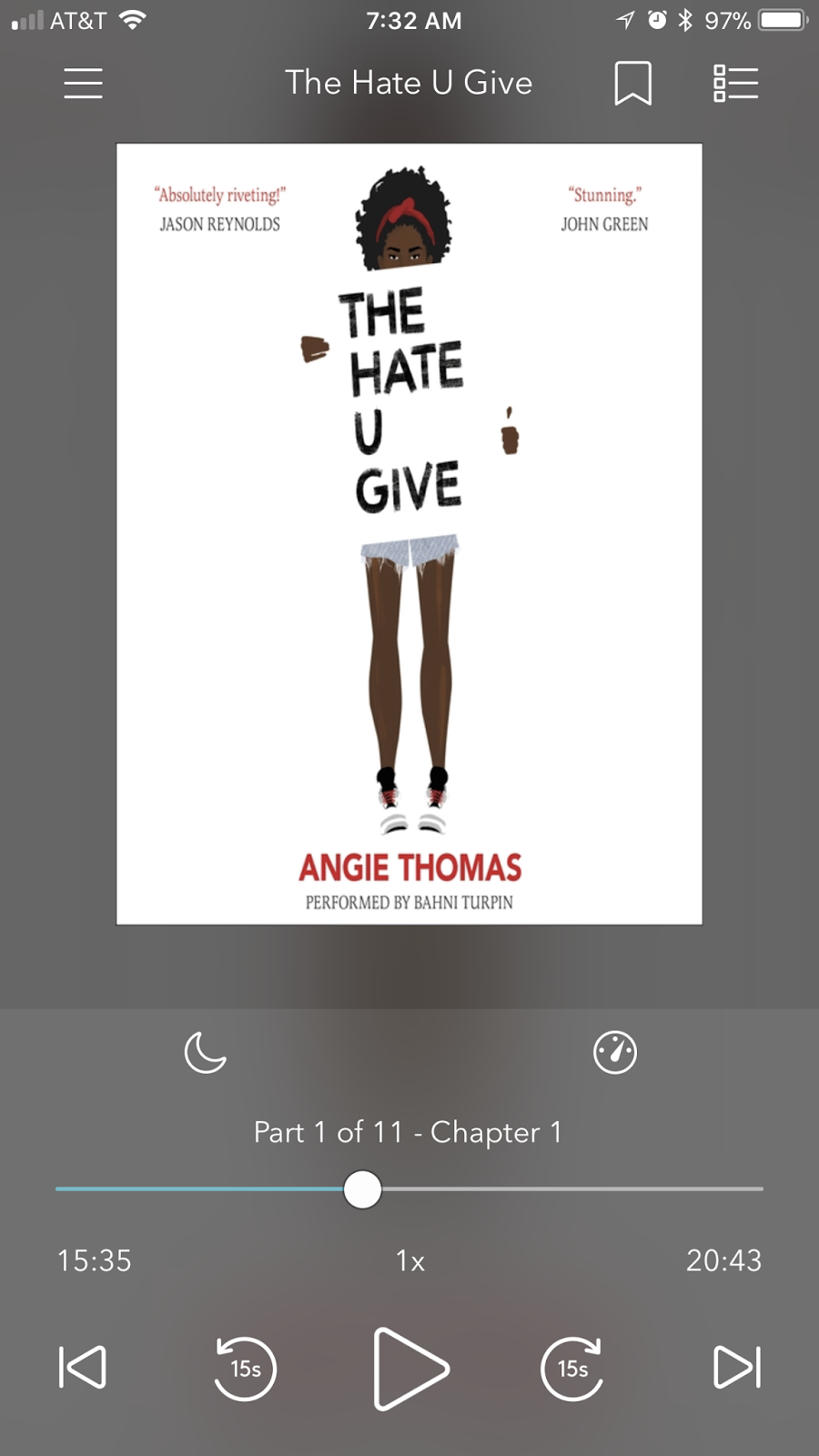 Aimee Bartis Book Review The Hate U Give