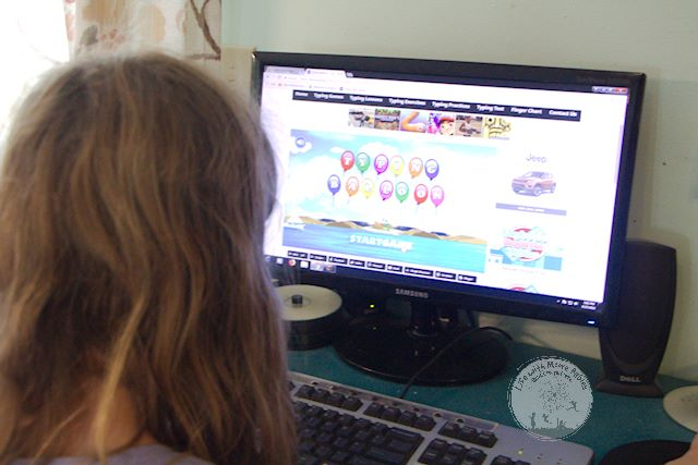 KidzType offers free typing lessons.